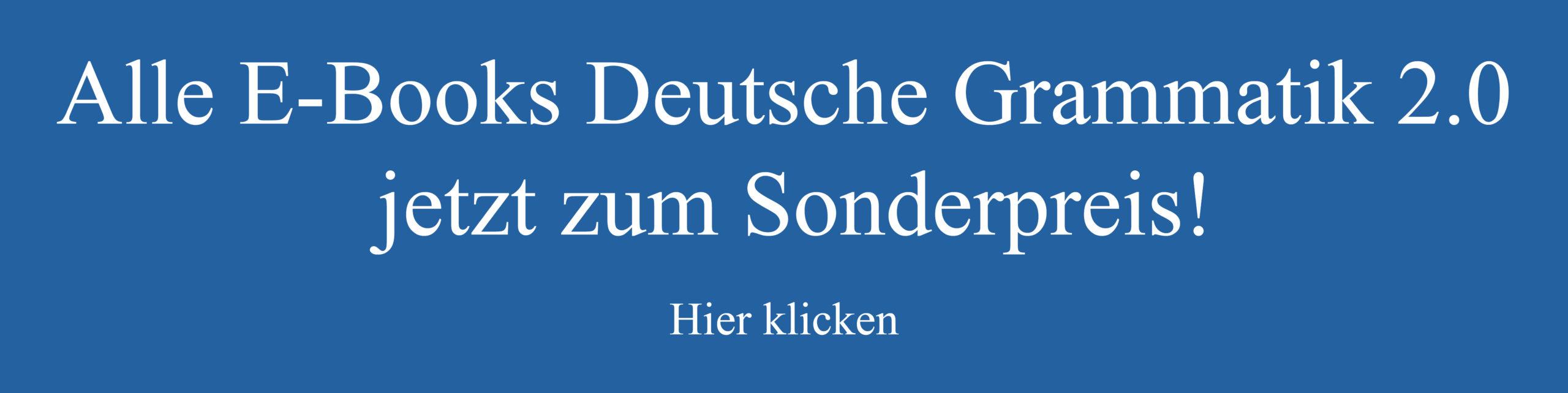 Download E-Book-Paket Deutsche Grammatik 2.0