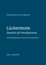 Lückentexte Deutsch als Fremdsprache - Cover