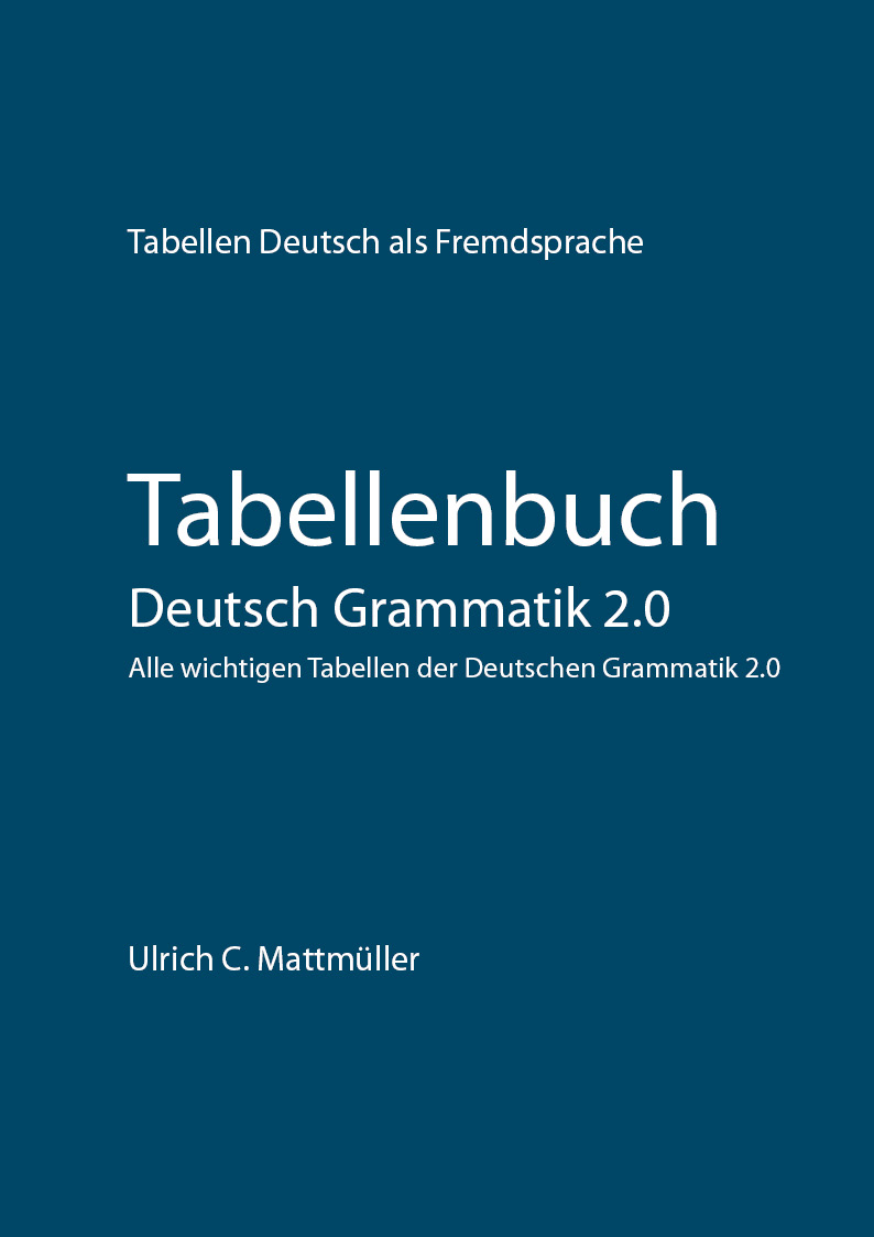 Download Tabellenbuch Deutsch Grammatik 2.0